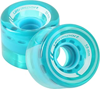 Ultrasport Ruedas para Waveboard, Robustas para Patinar A Gran Velocidad, Unisex Adulto, Ø 76 mm, en Set de 2