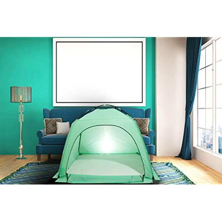 FeelingLove Indoor Privacy Play Tent on Bed/Warm and Cozy Sleep ...