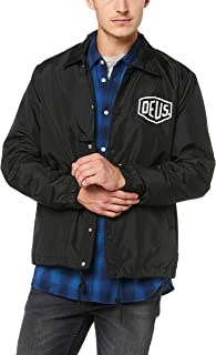 Deus Ex Machina Men's Milano Address Coach Jacket