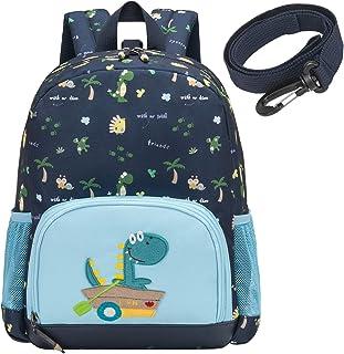 willikiva Dinosaur Backpack for Toddler Kids Boys and Girls Kindergarten Backpack Waterproof preschool Bag