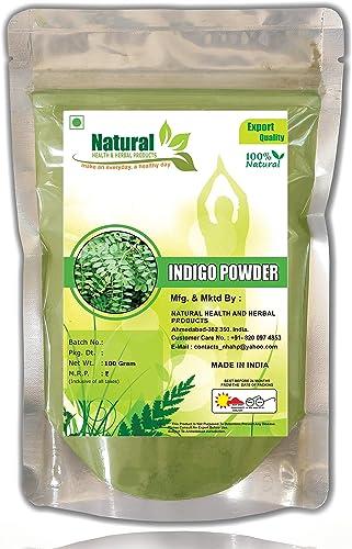 Natural Health And Herbal Products Indigo Powder 100 G
