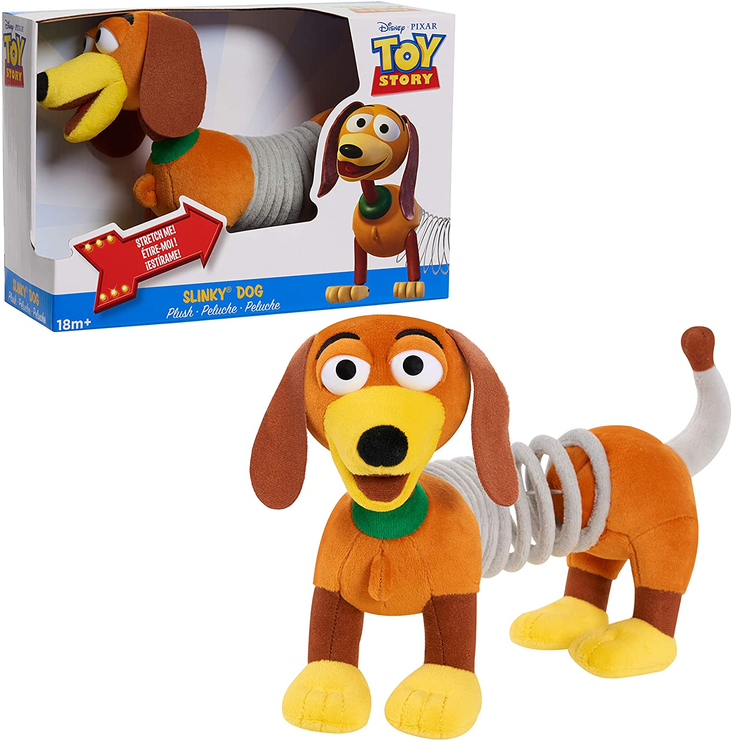 Disney and Pixar Toy Story Nippon regular agency Slinky OFFicial Dog Year 3 for Plush Toys Old