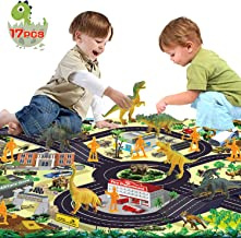 Tobeape® Dinosaur Explorer Island Toy -Dinosaur World Discovery Expedition-Realistic Figures for Pretend Play Assembled Playset Best Toys Gifts…
