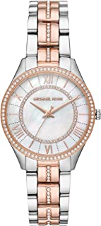 Michael Kors Lauryn Women's White Dial Stainless Steel Analog Watch - MK3979