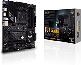 ASUS TUF GAMING B550 PLUS – Carte mère AMD B550 Ryzen AM4, ATX, PCIe 4.0, 2xM.2, 10 phases d'alimentation DrMOS, DDR4 440...