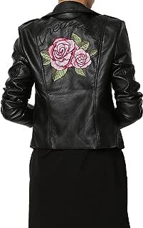 Faux Leather Motorcycle Biker Slim Fit Short Coat Jacket Many Styles