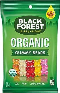 black forest organic gummy bears ingredients