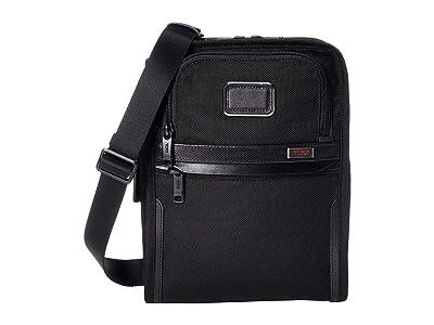 Tumi Alpha 3 Organizer Travel Tote (Black) Luggage