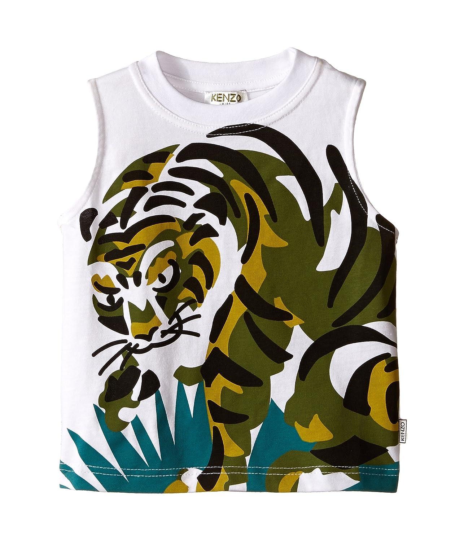 [ケンゾー] Kenzo メンズ Tiger In Grass Sleeveless T-Shirt (Toddler) トップス [並行輸入品]