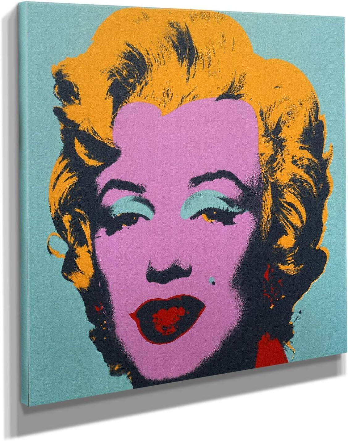 Long Beach Mall Andy Warhol Marilyn Monroe Pop Art Print Canvas Wal latest on Green