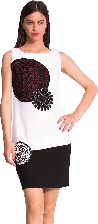 Desigual Women's Sally Knitted Sleeveless Shift Dress