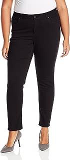 Rafaella Women's Plus Size Weekend Skinny Leg Slim Fit Jeans