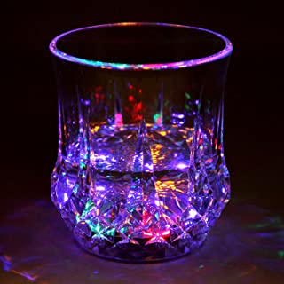 lighted drinking glasses
