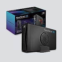 "Vantec NexStar HX, 3.5"" SATA III Hard Drive Enclosure USB 3.0 with Fan (NST-387S3-BK)"