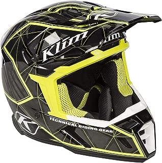 KLIM F5 Helmet ECE LG Demolish Green