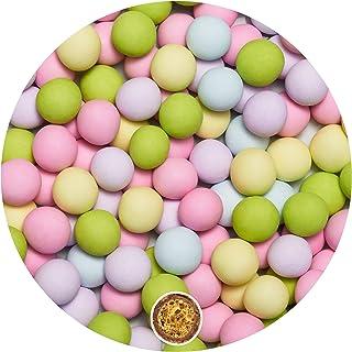 EinsSein 0,7kg Bolas de Chocolate crujiente boda bautizo Mezcla pequeña Colorido mate candy bar melts cereal surtido choco corazones almendras caramelos bombones confeti peladillas regalos botes