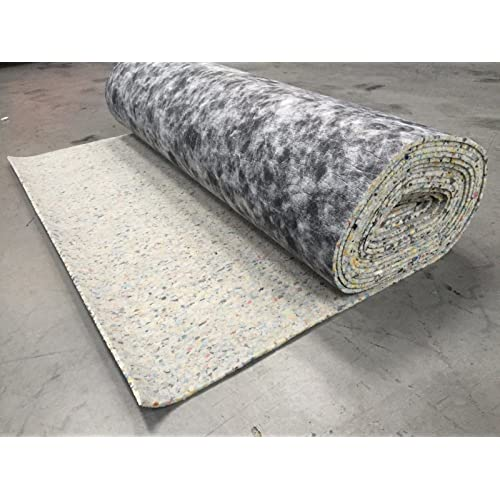 10mm Thick PU Carpet Underlay Rolls | 5m² Total Area | UK Manufactured Quality Luxury Feel