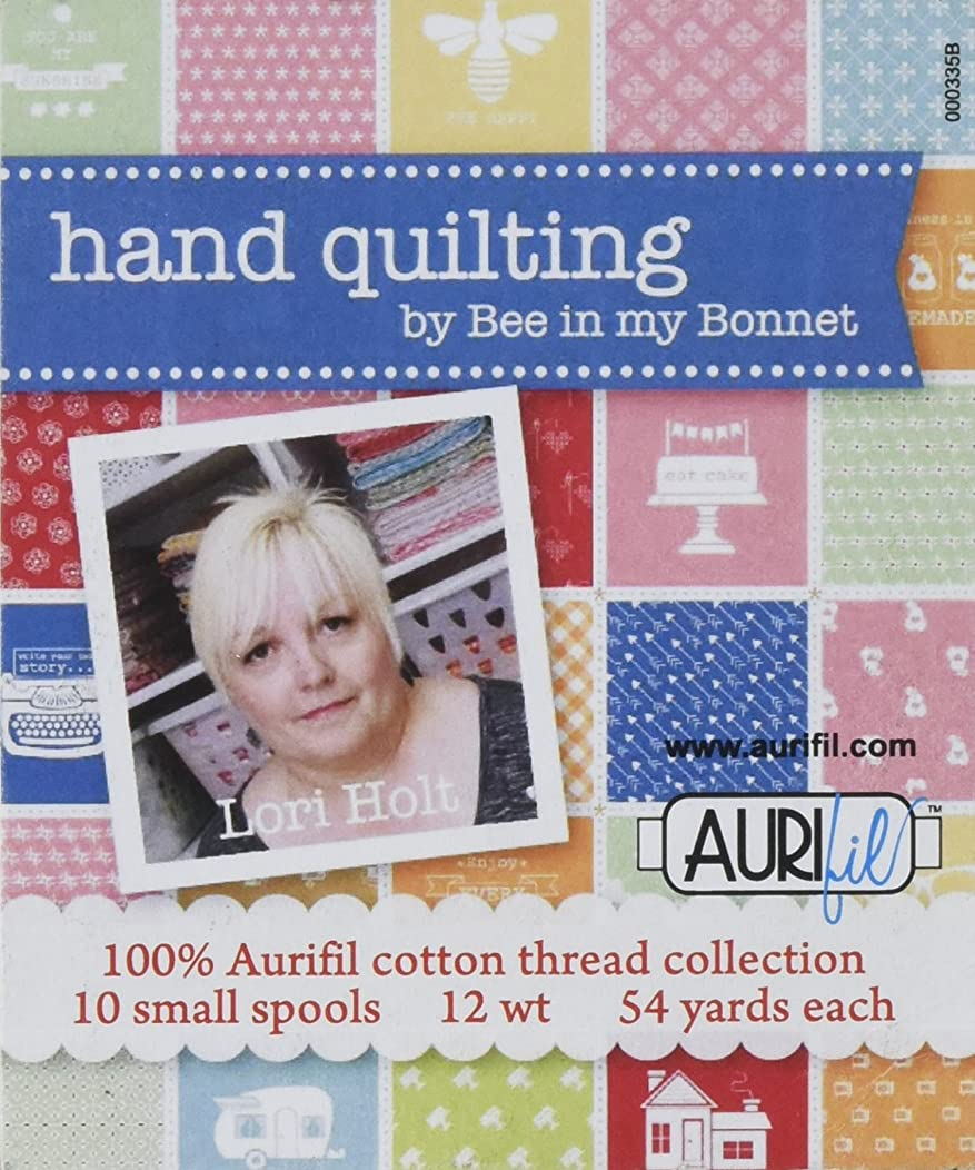 Aurifil Handing Quilting by Bee in My Bonnet 10 Small Spools Cotton 12wt