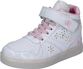 LULU' Sneaker Bambina Pelle Sintetica Bianco