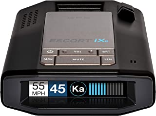 Escort IXC Laser Radar Detector - Extended Range, Wifi Connected Car Compatible, Auto Learn Protection, Voice Alerts, Mult...