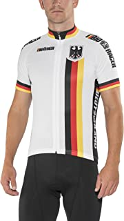 Bioracer Herren Germany Short Sleeve Jersey Radtrikot