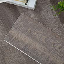 Diflart Lenox Estate Oak 23.6 sq.ft Vinyl Plank Flooring Click Locking 48x7 inch Lvt Flooring Waterproof Foam Back Rigid SPC Core Wood Grain Finish Pack of 10