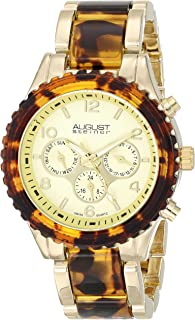 August Steiner Men's Vida Swiss Quartz Multifunction Bracelet Watch