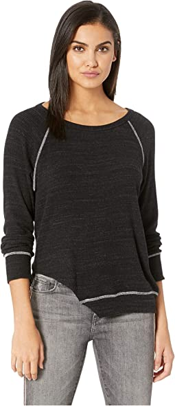 Diagonal Slub Sweater