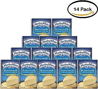 PACK OF 14 - Martha White Buttermilk Cornbread & Muffin Mix, 6 oz