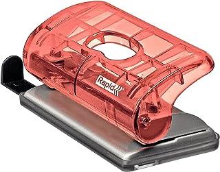 Rapid Mini Perforateur, Capacité 10 feuilles, Pêche, FC5, Colour'Ice, 5001330
