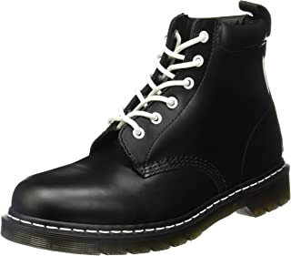 Dr. Martens 939 Smooth Black/Black Pu, Bottillons à lacets Mixte