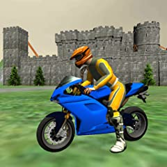 Realistic motorbike physics engine Beautiful medieval castle and offroad environments Stunning motorcycle driving experience Awesome stunt ramps to jump off Atmospheric medieval music