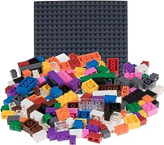 comprar comparacion Strictly Briks - Set de Ladrillos de construcción y una Base - 336 Piezas de 12 Colores Diferentes - Piezas Sueltas - Comp...