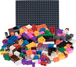 "Strictly Briks Classic Bricks 336 Piece Set with 10"" x 10"" Baseplate 100% Compatible with All Major Brands 