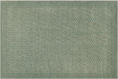 モリヨシ ラグ カーキ 幅130×奥行190cm