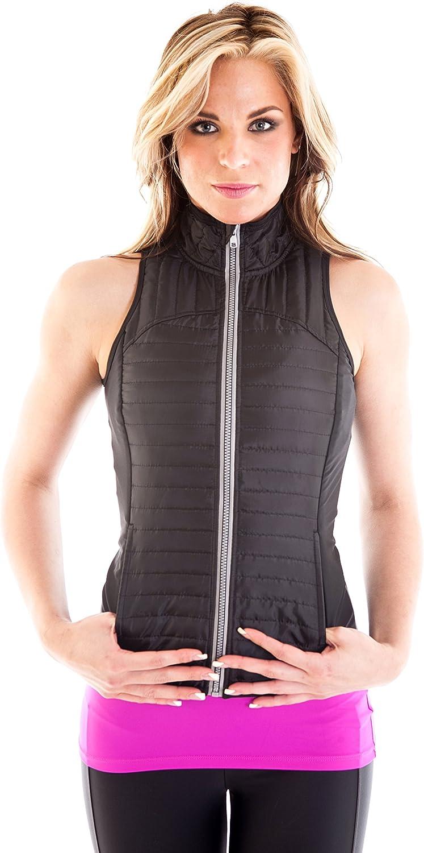 Alii Lifestyle Women's  Rafaella  Padded Vest with Reflective Zipper