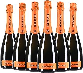 Valdobbiadene Prosecco Superiore Extra Dry DOCG Senior Bortolomiol 2020 6 bottiglie da 0,75 ℓ