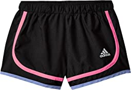 adidas Kids Relay Race Woven Shorts (Toddler/Little Kids)