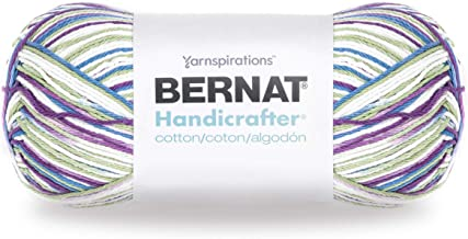 Bernat Handicrafter Cotton Yarn, Gauge 4 Medium Worsted, Fruit Punch