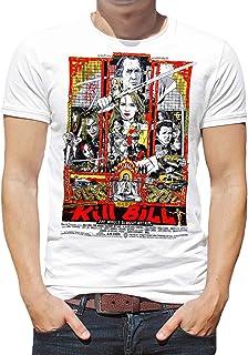 DibuNaif Camiseta Hombre - Unisex Cine Kill Bill, UMA Thurman. Quentin Tarantino