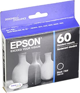 Epson T060120 DURABrite Ultra Black Standard Capacity Cartridge Ink