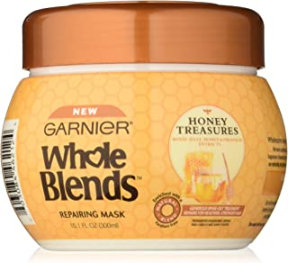 Garnier  Whole Blends Repairing Mask, Honey Treasures extracts, 10.1 Fluid Ounce