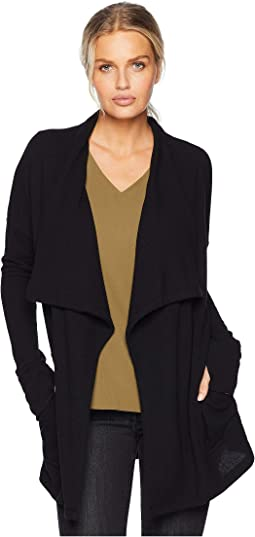 Drape Front Pocket Sweater