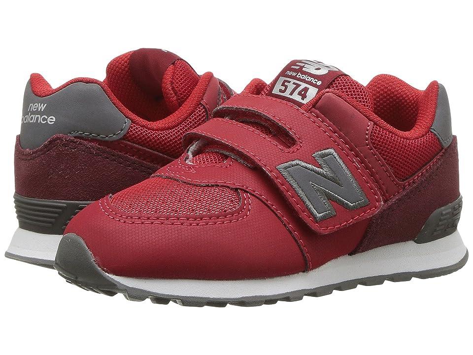 New Balance Kids KX574v1I (Infant/Toddler) (Red/Black) Boys Shoes