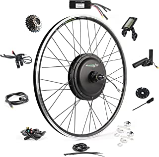 "EBIKELING Waterproof Ebike Conversion Kit 48V 1200W 700C Direct Drive (NOT 26"") Electric Bike Conversion Kit - Front & Rea..."