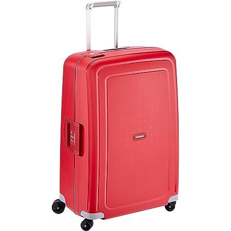 Samsonite S'Cure Spinne - Maleta de equipaje, L (75 cm - 102 L), Rojo (Crimson Red)