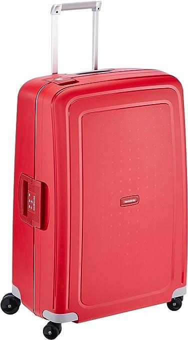 Imagen deSamsonite S'Cure Spinne - Maleta de equipaje, L (75 cm - 102 L), Rojo (Crimson Red)