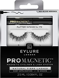 Eylure Pro Magnetic Natural Lashes, Fluttery Intense No. 179