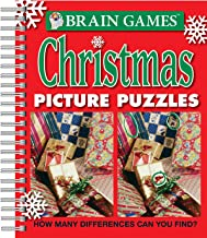 Brain Games - Christmas Picture Puzzles: How Many Differences Can You Find? (Brain Games - Picture Puzzles)