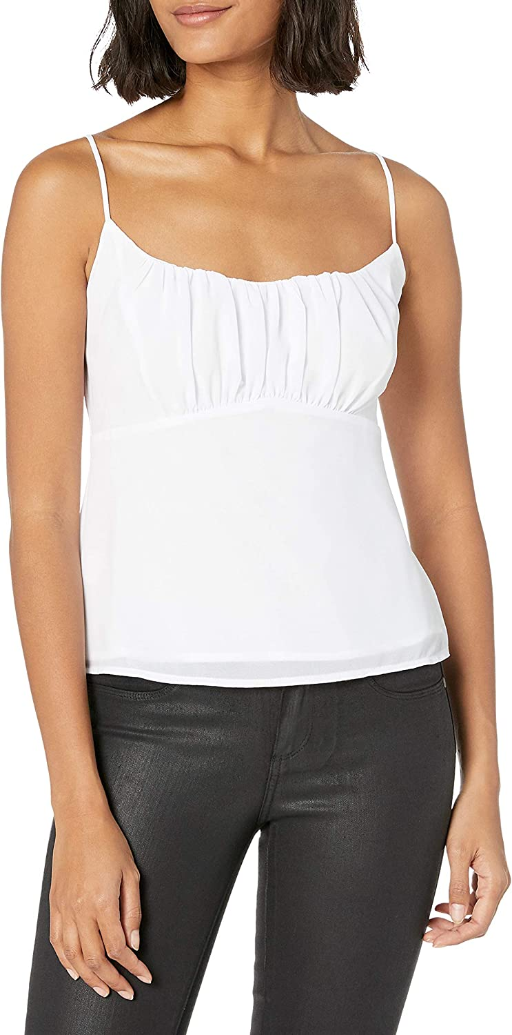ASTR the label Women's Shirred Cami Tank Top